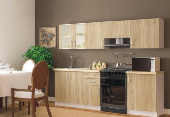 Kuchyňa Vika 240 cm dub sonoma